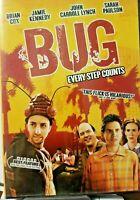 Bug: Every Step Counts (DVD) Brian Cox, Jamie Kennedy, Sarah Paulson NEW