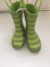 New Kids Rain Boots Gardening Target Caterpillar Inch Worm Size S 5/6