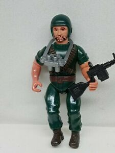"Vintage 1983 REMCO Sarge Team CHUTES 6"" Action Figure Soldier"