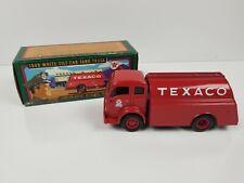 TEXACO  ERTL F950 1949 WHITE TILT CAB TANK TRUCK COIN BANK #13