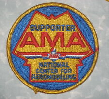 "AMA Supporter Patch - National Center for Aeromodeling 4"" x 4"""