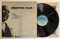 Memphis Slim - The Real Folk Blues - 1966 US 1st Press (EX) Ultrasonic Clean
