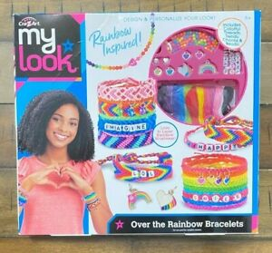 My Look Over the Rainbow Friendship Making Bracelet by Cra-Z-Art NEW in Box