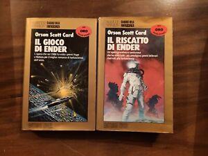 Il Gioco & Riscatto di Ender - Orson Scott Card - Cosmo Oro Nord - LEGGI INFO