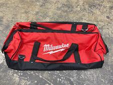 "New Milwaukee 24 Inch Large Heavy Duty Tool Bag 24"" x 12"" x 12"" One Bag"