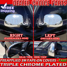 2000-2006 GMC Yukon, Yukon XL, Denali Chrome Mirror COVERS Full Overlay Cap Trim