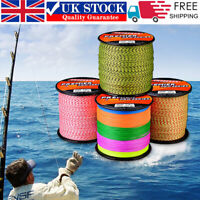 300M PE Spectra Braided Fishing Line Super Strong 4 Strands Fish Line 6LB-100LB