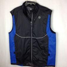 Golds Gym L/XL Body Building Training Vest Zipper Men's