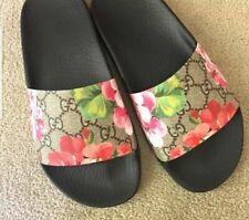 Gucci Floral Slide Sandals for Women