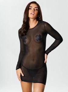 Ann Summers The Visionary Dress, Black - Sizes XS - XL
