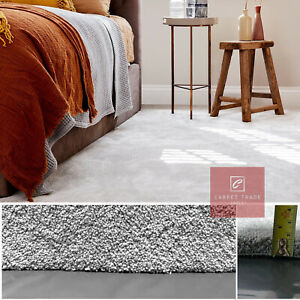 Carpet 17mm Thick Luxury Soft Condor Carpets Sale m² Flecked Lounge Bedroom Grey