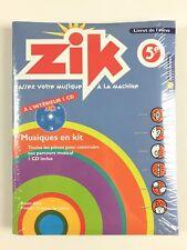 Zik Coffret Du Professeur + Livret De l'élève 5ème + CD / Livre Musique Fuzeau