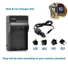 Home&car Battery Charger for Panasonic DMW-BCG10 DMW-BCG10PP & LEICA BP-DC7