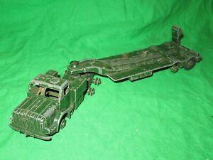 Dinky Supertoys 660 Thornycroft Mighty Antar Tank Transporter for renovation #2