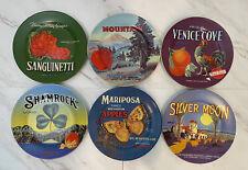 "New listing Set of 6 Oneida Vintage Label Collection 8"" Plates China, Dishwasher Safe"