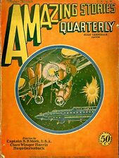 Amazing Stories Qrtly Vol 2  #1  Pulp  Winter 1929  VG  Meeks, Harris, Gernsback
