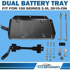 Dual Battery Tray Kit Fit Toyota Prado 150 Series 3.0L TDI 2009-2015 1KD-FTV 4x4