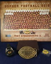 2012 Meineke Car Care Bowl Troy Stoudemire's Personal Lot - Photo, Watch, Buckle