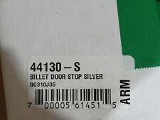 Armadillo Billet Mechanical Front Door Stop (Silver) - 44130-S jk jeep