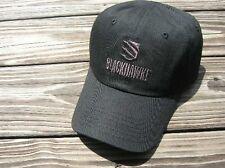Blackhawk tactical accessories baseball hat cap black NEW Bonus survival band!