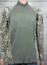 MASSIF Shirt L Army Combat Men's Large Digital Camo Flame Resistant