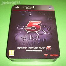 DEAD OR ALIVE 5 COLECCIONISTA NUEVO Y PRECINTADO PAL ESPAÑA PLAYSTATION 3 PS3