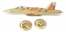 F-18 U.S Navy Hornet Aeroplane Side View Enamel Lapel Pin Badge