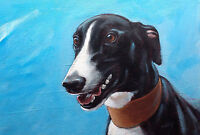 Limited edition signed 'Giclee' print direct from Steve Sanderson, Greyhound Art