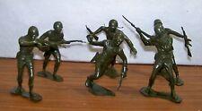Marx Toys, WW II Series, Set of 6 inch figures Marines