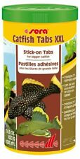 Sera Catfish Tabs XXL 420g/1L - Stick-on Tablets Fish Food for bigger Catfish