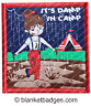 It's damp in camp girl guide brownie camping blanket badge patch patches badges