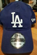 Los Angeles Dodgers New Era Core Fit Replica 49FORTY Fitted Hat - Royal. XXL