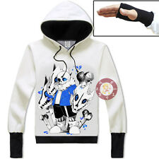 Anime Undertale Sans Pullover Jacket Cosplay Hoodie Unisex Coat#GZ51