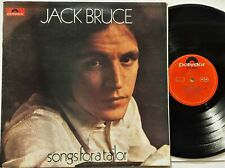 Jack Bruce - Songs For A Tailor LP 1969 1st UK Press A2/B2 Polydor G/Fold Cream