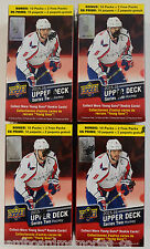 2015-16 Upper Deck Series 2 Factory Sealed Hockey Blaster Box Lot of 4