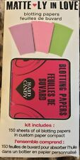 1 Hard Candy Matte LY in Love Blotting Papers (150 Papers) New