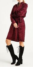 NEW! BGN Abito Vestito velluto ciniglia bordeaux Velvet Vine Dress Alta Moda NEW