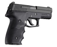 Hogue 28000 Sig Sauer P228/P229 Grip Rubber Wrap Around W/Finger Grooves-Black