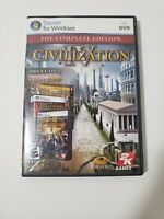 Sid Meier's Civilization IV: The Complete Edition (PC, 2009) FREE SHIPPING
