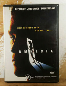 AMNESIA (DVD) 1997 Ally Sheedy - John Savage - Sally Kirkland THRILLER RARE