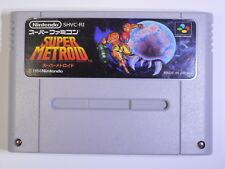 SUPER METROID Nintendo Japan SNES Super Famicom Japan