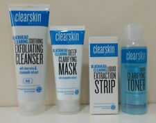 Avon Clearskin Blackhead Clearing Set - Toner, Cleanser, Mask & Extraction Strip