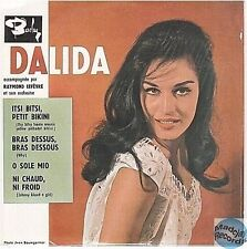 DALIDA ITSI BITSI PETIT BIKINI CD SINGLE EP 4T no vinyl
