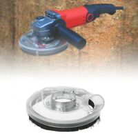 """Dust Shroud Kit Dry Grinding Dust Cover for 4"""" 5"""" Angle Hand Grinder Clear"""