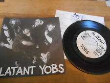 "7"" punk blatant YOBS-Same/Untitled (3) canzone Old World/Insert"