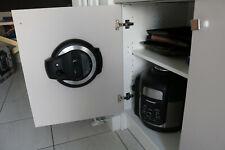 White Ninja Foodi Pressure Cooker Lid Storage Cupboard Mounting Bracket