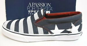 Sperry Top Sider Size 7.5 US Flag Loafers New Mens Shoes