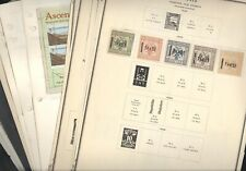 WW(A), Afghanistan, Memel, Excellent assortment of Stamps on remainder pages