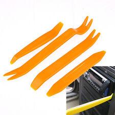 4pcs radio de coche Puerta Cuerpo Clip Panel Dash ajuste de audio de plástico de palanca de retiro Kit De Herramientas