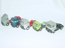 5x Wiking Herpa Albedo HO 1:87 MERCEDES-BENZ RENAULT FIAT IVECO CABIN TRUCK Lot!